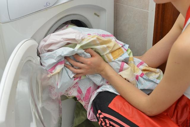 洗濯の効率がアップする忙しい主婦の味方! 便利なランドリーバッグ!