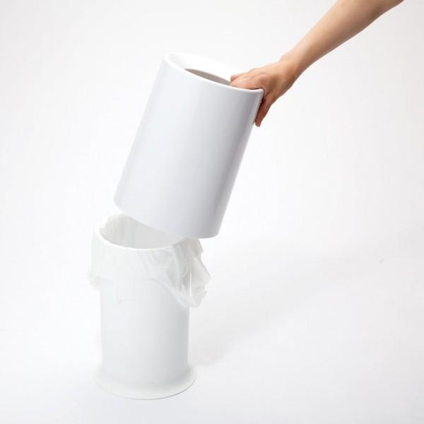 ideaco TUBELOR ゴミ箱 使用例