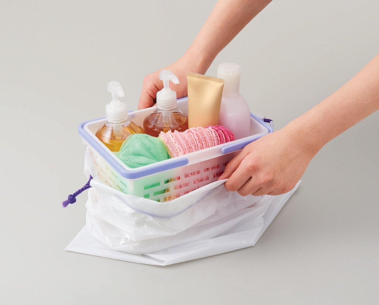 風呂 お風呂バッグ : お風呂グッズの専用バッグが ...
