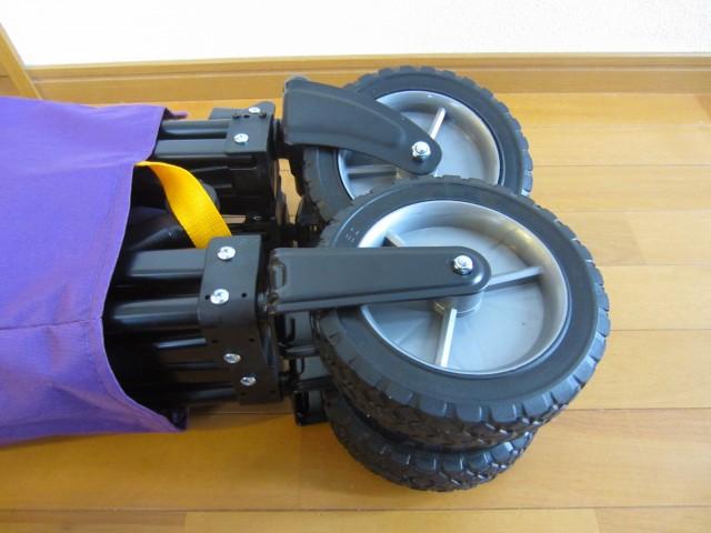 DOPPELGANGER(ドッペルギャンガー) アウトドア フォールディングキャリーワゴン 車輪