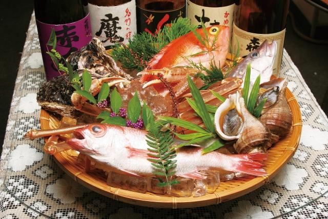 魚の盛り合わせ