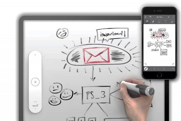 ホワイトボードが電子黒板になる Equil SmartMarker(エクイルスマートマーカー)2