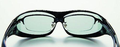 AXE アックス 偏光 オーバーグラス オーバーサングラス 眼鏡の上から