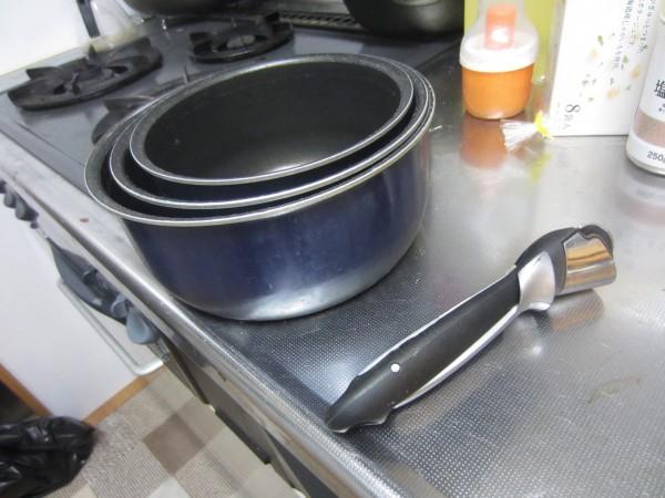 古いティファール鍋1