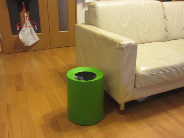 レジ袋を隠すideaco TUBELOR ゴミ箱
