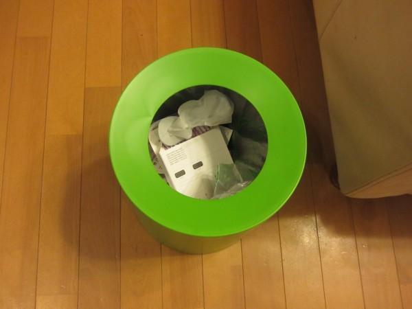 レジ袋を隠すideaco TUBELOR おしゃれなゴミ箱6
