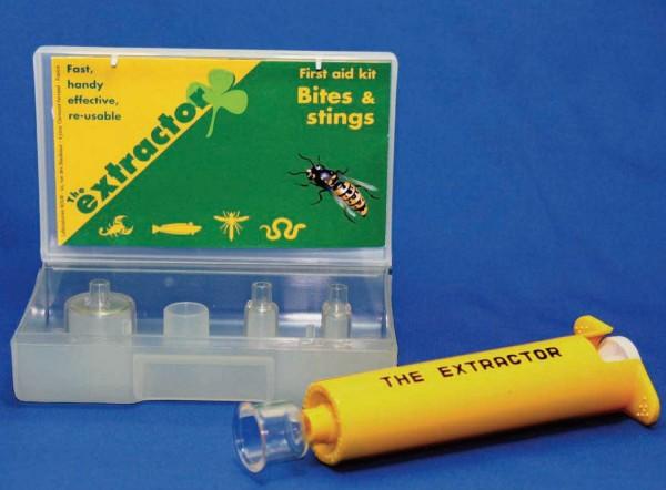 毒虫や毒蛇の応急処置に extractor(エクストラクター) エクストラクター ポイズンリムーバー