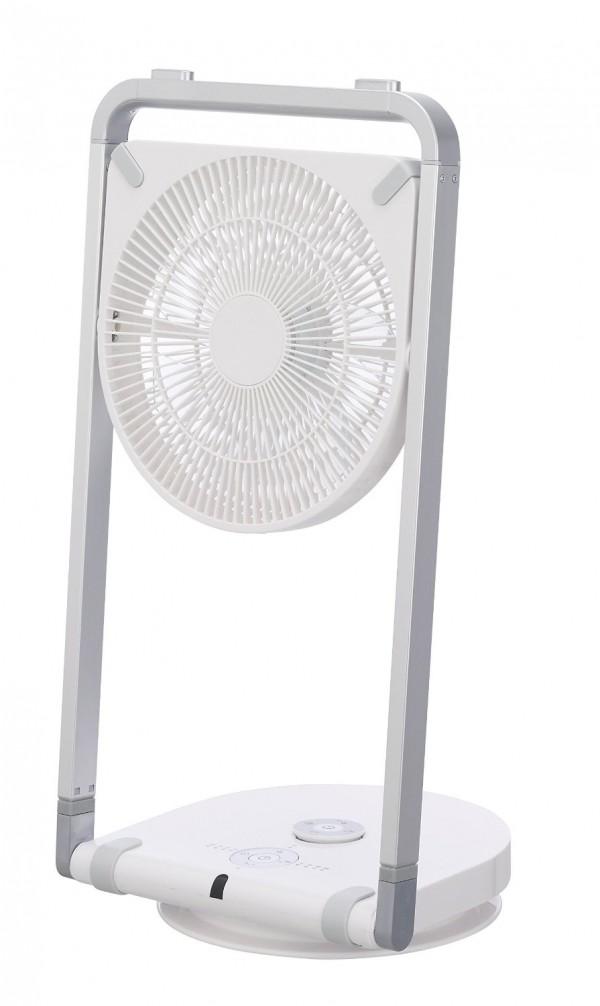 お折りたためる扇風機 ピエリア DC フォールディングファン_1