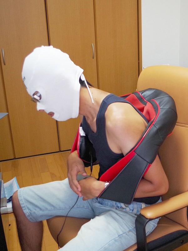 医療機器認可取得 マッサージ機 ネックマッサー も~む 首・肩・背中・腰 マッサージ機 指圧風もみ玉マッサージ 058356_09
