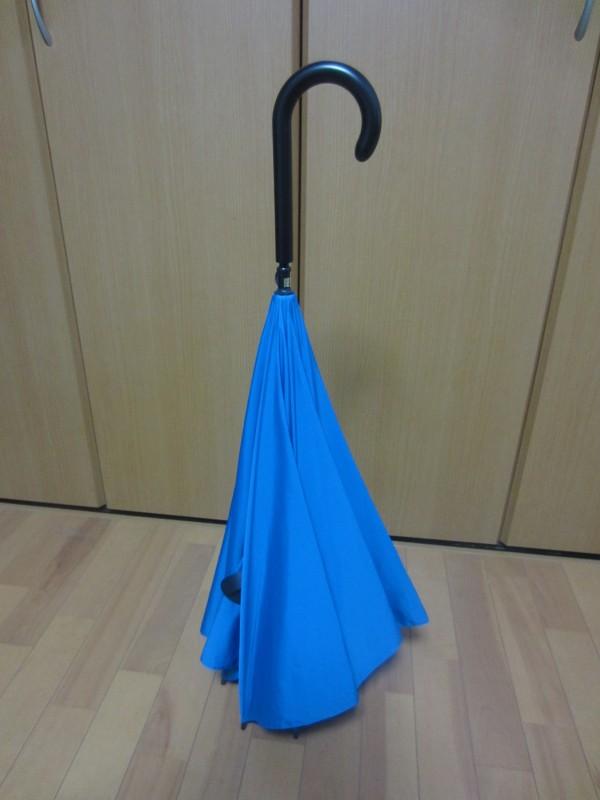 逆さまに開く傘「UnBRELLA」のいいとこ悪いとこ