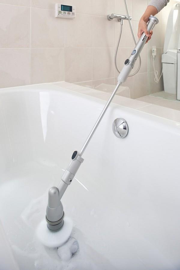 お風呂・トイレ・洗面所の掃除に充電式バスポリッシャー TU-890_6