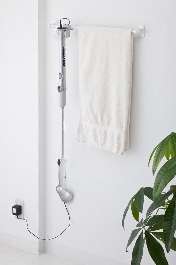 お風呂・トイレ・洗面所の掃除に充電式バスポリッシャー TU-890_8