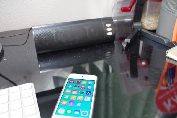 スマートフォン パソコン対応 充電式 Bluetooth スピーカー258Bとラジオアプリ_02