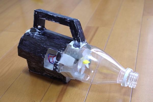 自由研究に小学生がサイクロン掃除機を作ってみた!