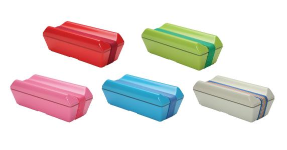 保冷剤一体型ランチボックス GEL-COOL fit_カラーバリエーション