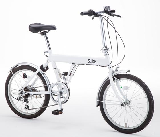 スライドして畳む折りたたみ自転車SLIKE(スライク)
