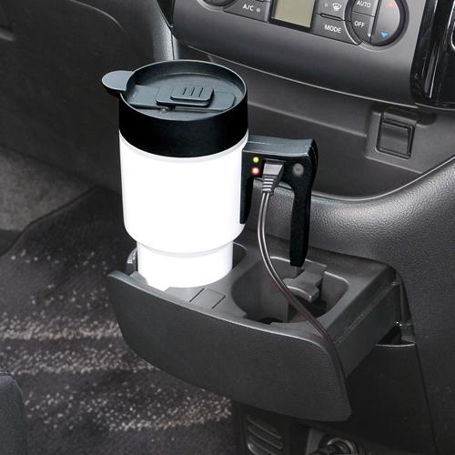 セイワ(SEIWA)車用ポット ボトル電気ケトル ホワイト Z60_02