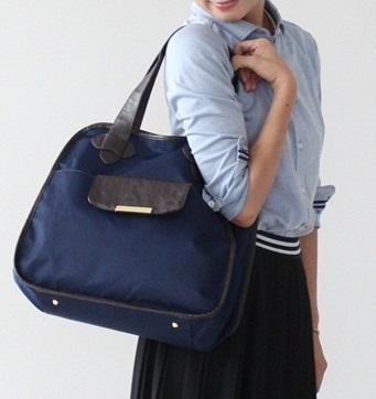 きれいめスタイルにもぴったり! スーツで持っても浮かない 通勤&フィットネス両立バッグ_01