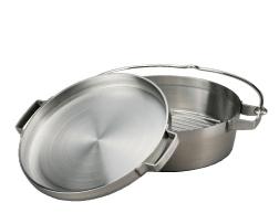 SOTO(ソト)ステンレスダッチオーブン 10インチハーフ