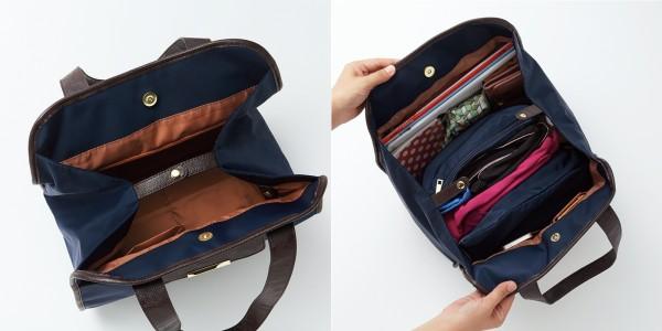 きれいめスタイルにもぴったり! スーツで持っても浮かない 通勤&フィットネス両立バッグ_03