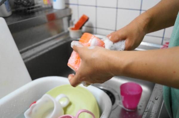 キッチン_食器洗い