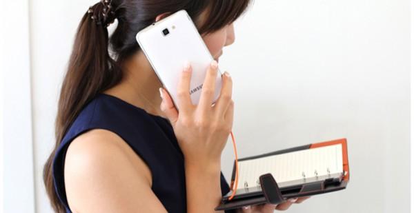 手帳に挟めるバッテリー EMIE Power Note 5200mAh