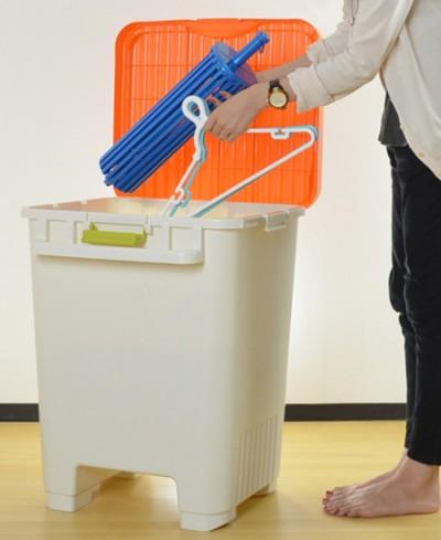 洗濯ハンガー小物収納はコレ! ベランダや室内で使えるストッカー!