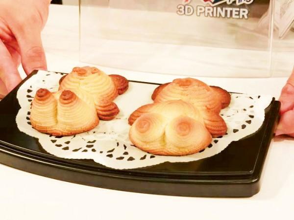 クッキーが作れる食品用3Dプリンタ『XYZ Food Printer』
