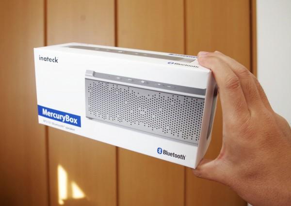 お風呂で使える Inateck アルミBluetooth防水スピーカー MercuryBox