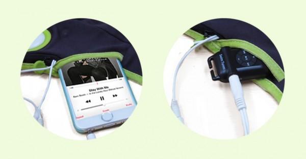 妊娠 胎教 音楽 「リトモ」 マタニティベルト