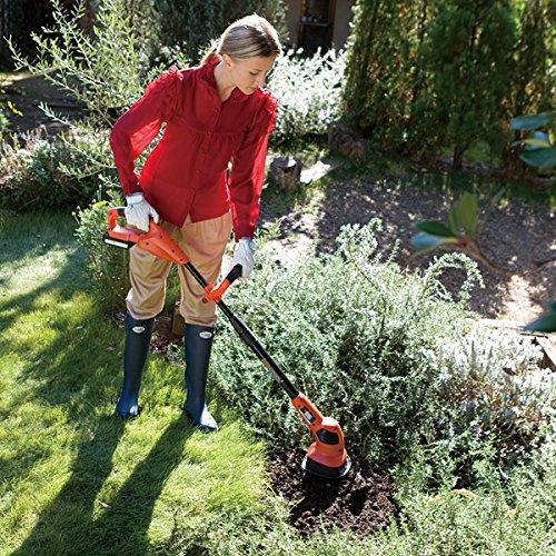 家庭菜園におすすめ! 除草もできるコードレスのミニ耕運機!