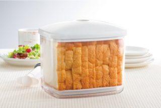 食パンを常温保存する真空容器! 余ったおやつの保存にも