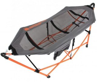 設置簡単で超軽量な自立式ハンモック!キャンプや室内にも