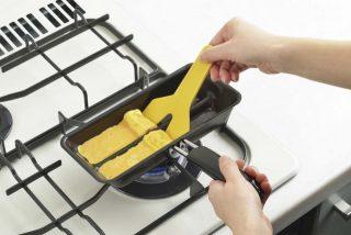 子供のお弁当おかず作り時間短縮に!卵焼き簡単フライパン