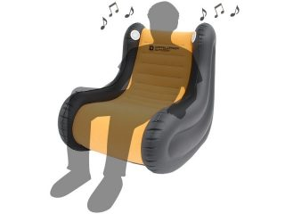 音楽が聴けるアウトドアチェアがおしゃれ!スピーカーソファ
