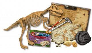 夏休みの子供の家の遊びに恐竜パズル!テレビゲームはさせたくない