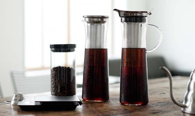 HARIOコールドブリューコーヒージャグとコーヒーピッチャー