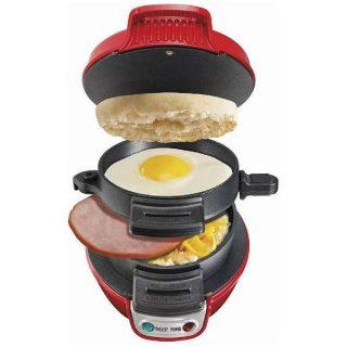 パンに飽きたら家で朝マック? エッグマフィンサンドイッチメーカー