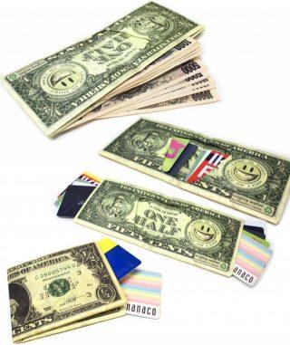 薄い!軽い!安い!お洒落で楽しい紙みたいな財布