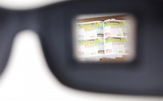 寝ながら読書ができる! プリズム眼鏡 寝たままメガネ