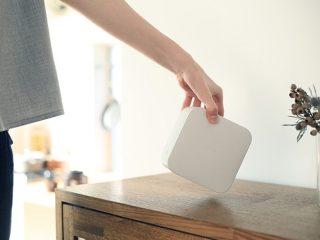 小型でお洒落な家庭用!壁も床もソニー単焦点プロジェクター