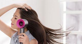 早く髪を乾かすドライヤー!ダイソンスーパーソニックの評価と口コミ