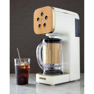 フラッペもスムージーもできる!コーヒーメーカークワトロチョイス