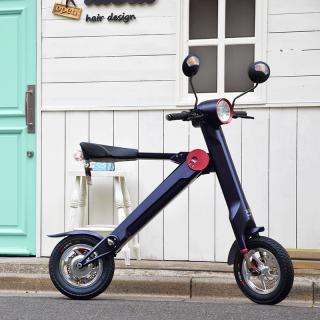 小型でお洒落な折りたたみ式電動スクーター!車載も公道もOK!