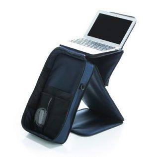 鞄が携帯テーブルになる!ビジネスバッグにSTANDKABAN