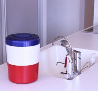 キッチン生ゴミ処理方法はコレ! 三角コーナーと生ごみ処理機の2役