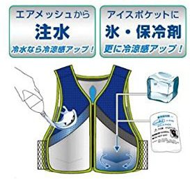 Coolbit クールビット 防暑対策 アイスポケットベスト