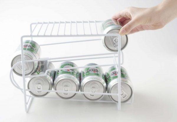 上にも置ける缶ストッカー