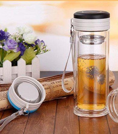 出来たてのお茶が飲めるドリンクボトル BeauDO(ビュード) ダブルウォール 保冷エコボトル