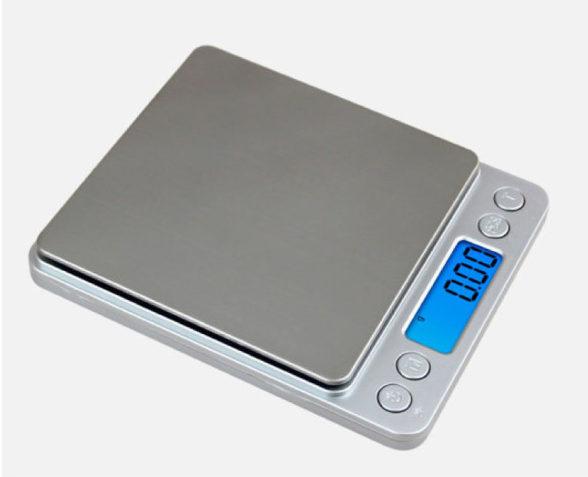 高品質電子はかり デジタルスケール 0.1g 0.01g デジタルキッチンスケール 3kg 500g